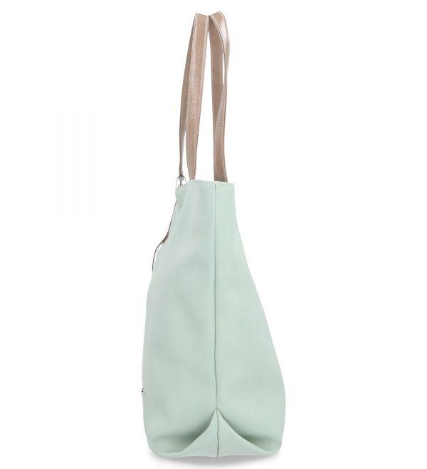 duża torba damska karen turkusowa