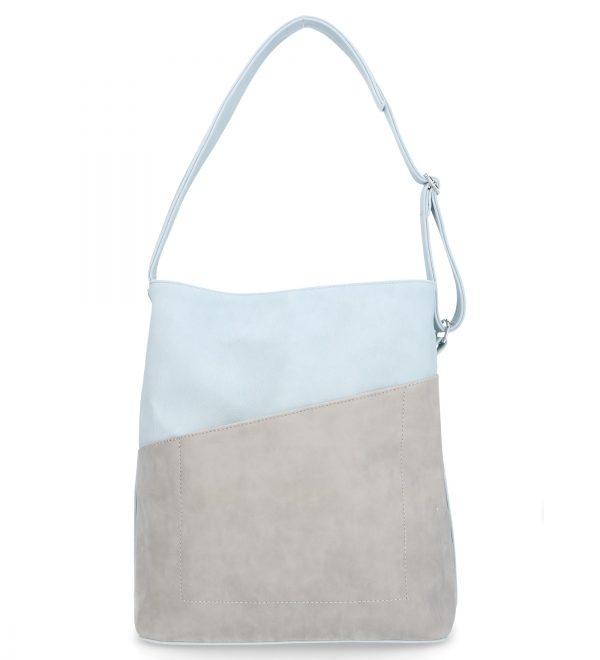 obfita torebka damska karen jasny niebieski