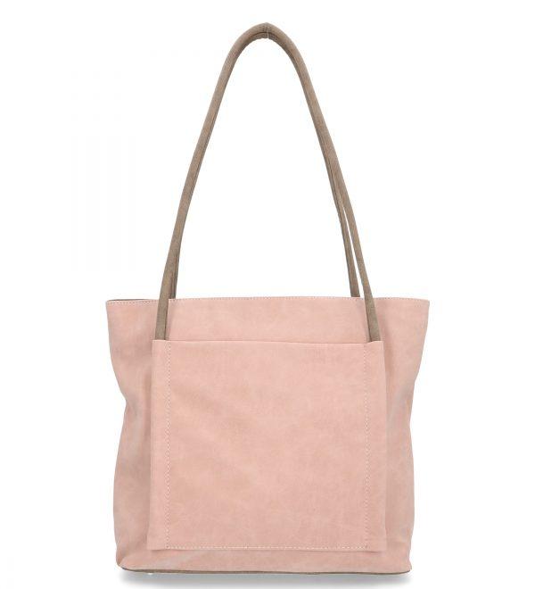 torebka karen casual różowa