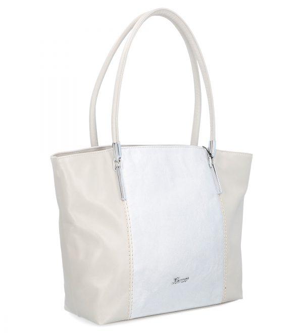 szara torebka z połyskiem karen