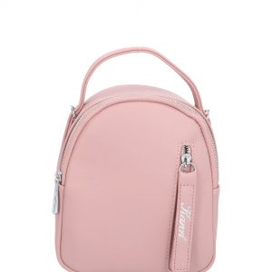 zaokrąglony plecak karen różowy