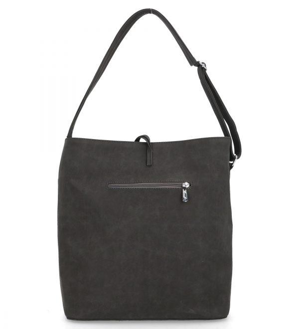 karen torebka duża grace czarno biała