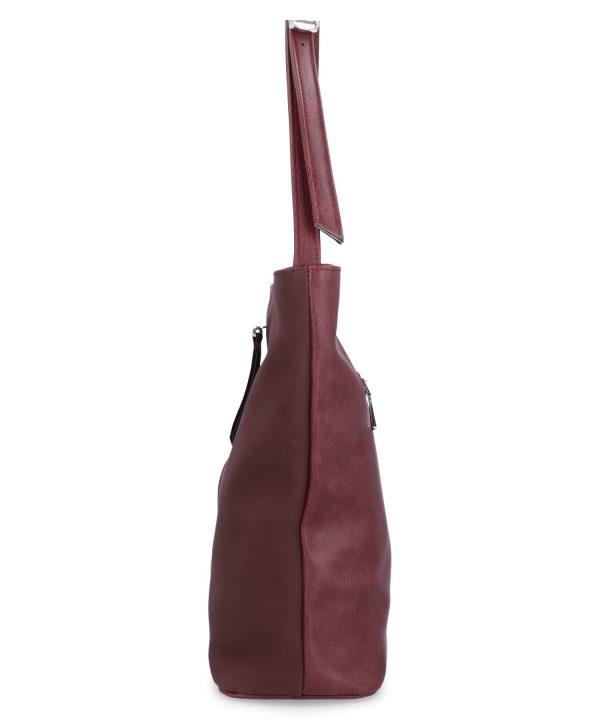 torebka karen bordowa na ramię