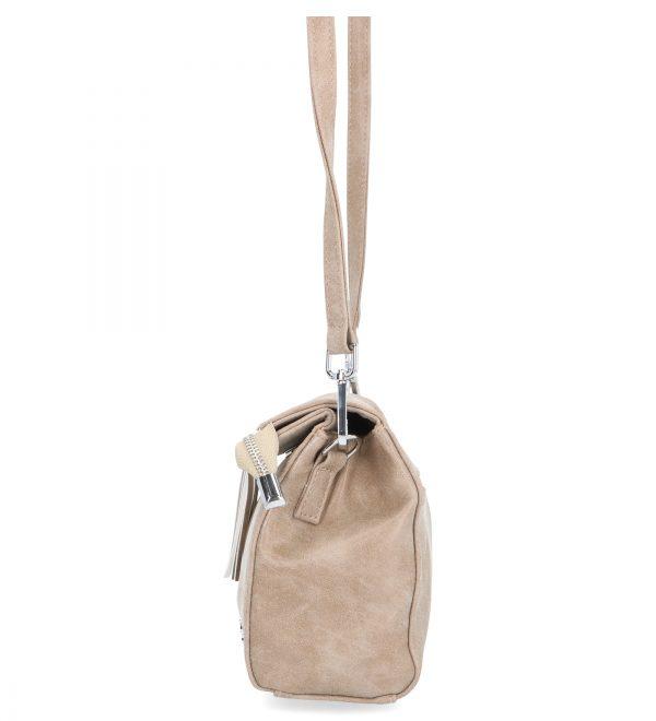 torebka z troczkiem brązowa karen