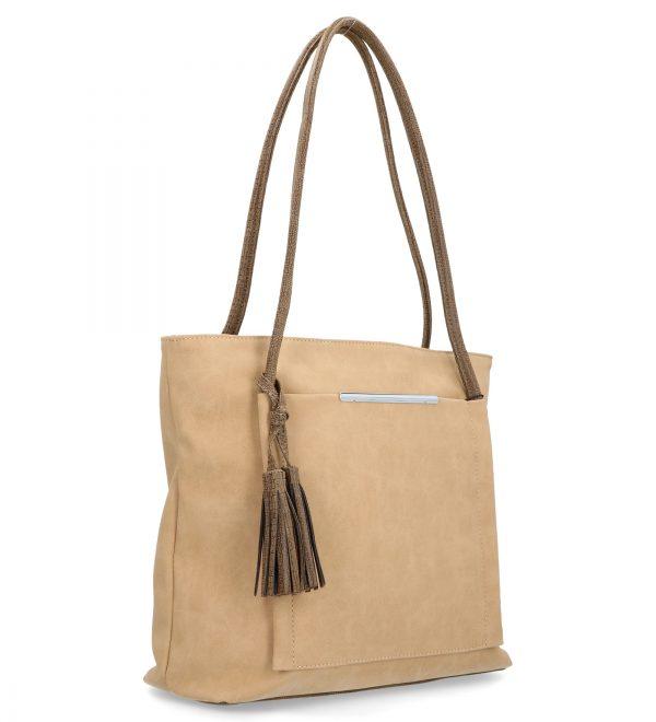 torebka klasyczna karen na guzik i z troczkiem