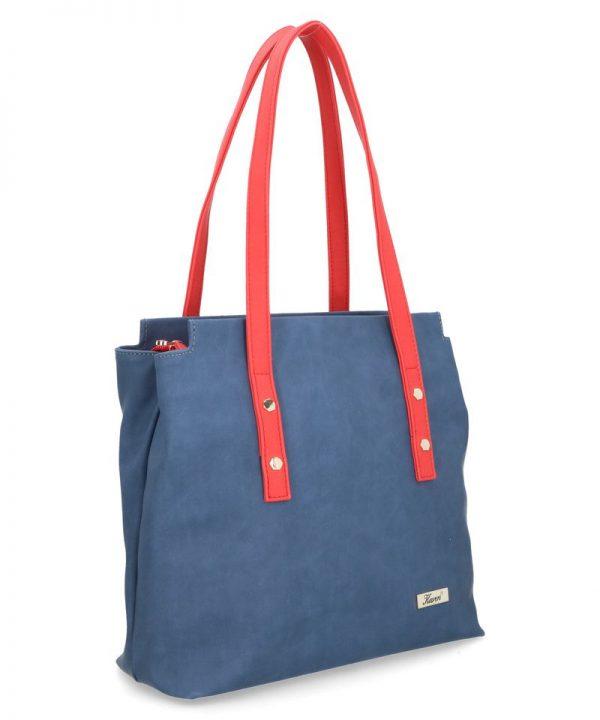 karen duża torebka felicja niebieska