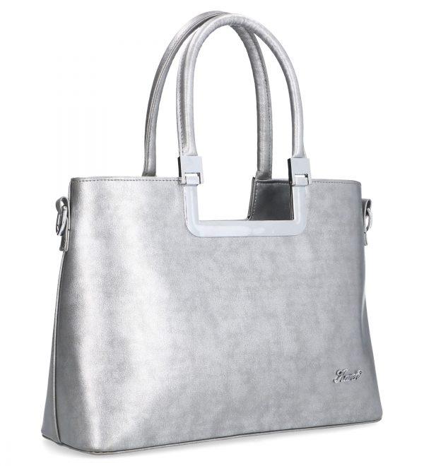 wykwintna srebrna torebka karen