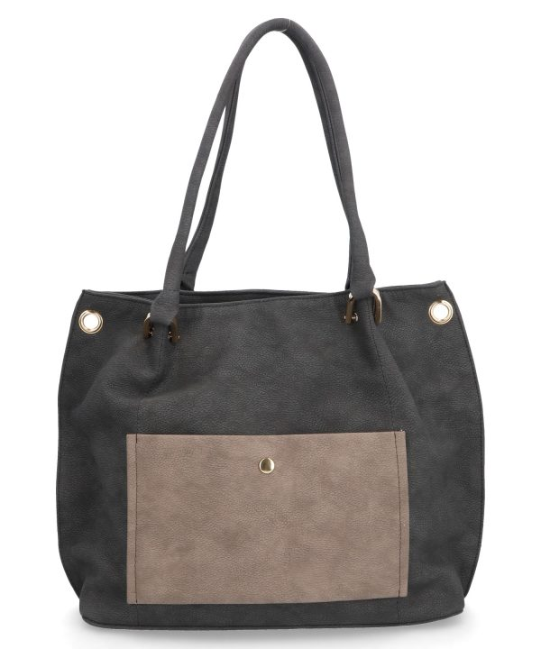 torebka karen szara klasyczna