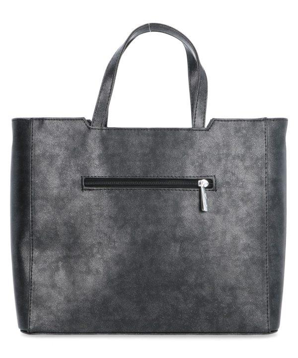 torebka czarna z połyskiem kareen kieszonka