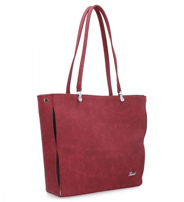 klasyczna torebka bordowa karen