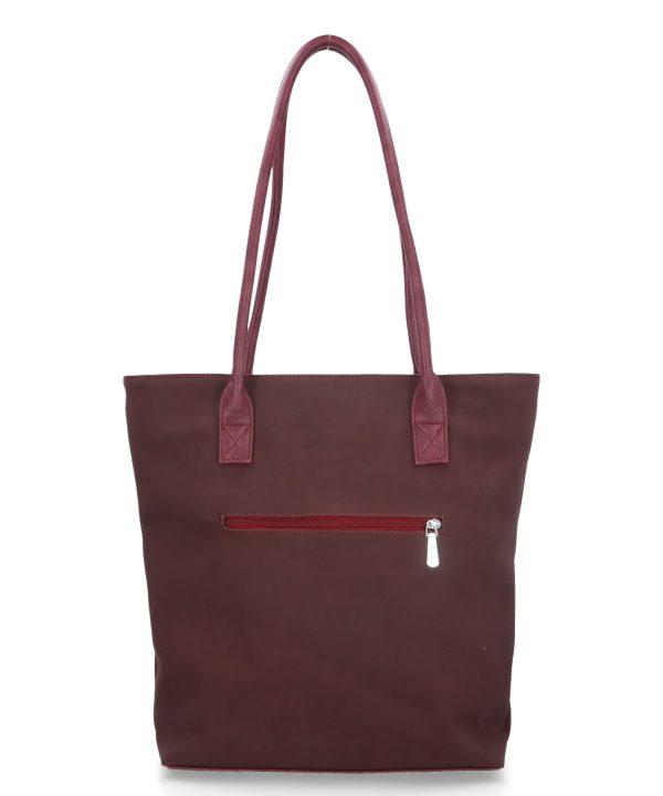 pojemna torba karen bordo