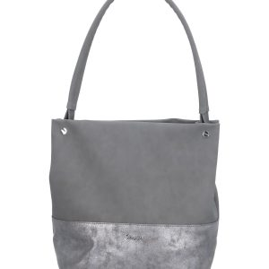 srebrna torebka karen na ramę