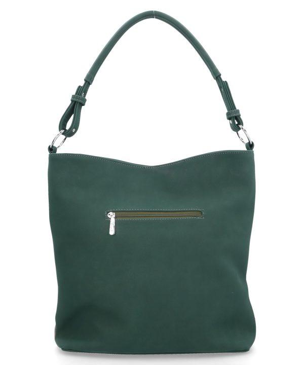 butelkowo zielona torba karen