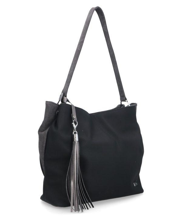 powabna torebka karen czarna