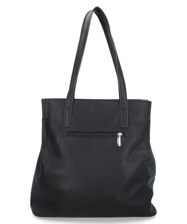 duża torba na ramię karen czarna