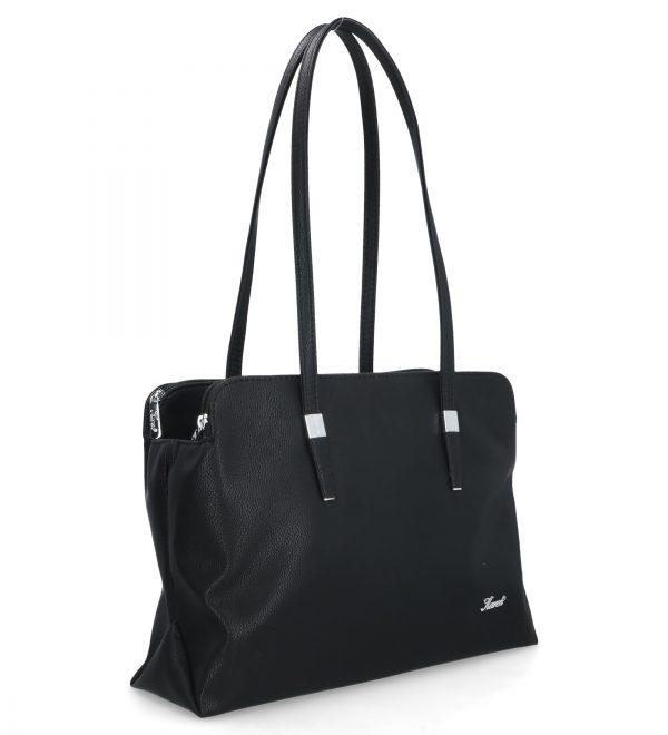 konwencjonalna torebka karen mała czarna