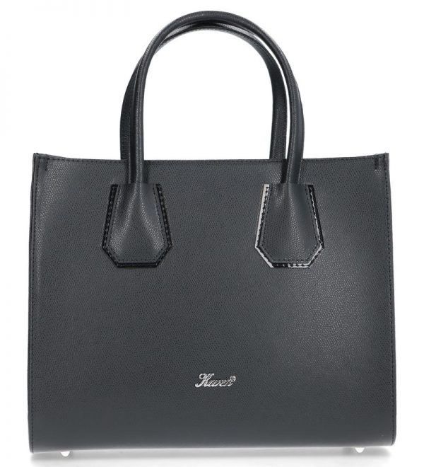 karen torebka skórzana palmellato czarna