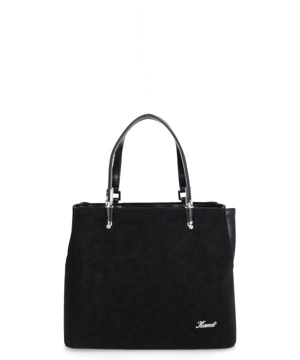mała kuferkowa torebka czarna karen
