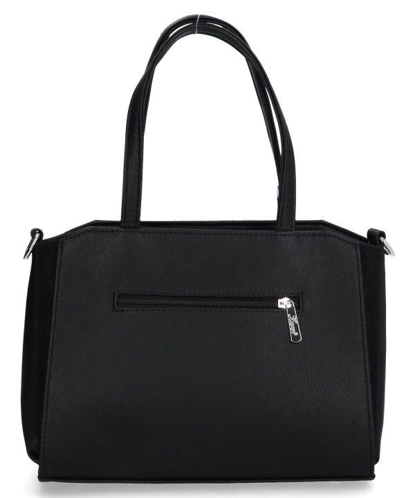 torebka z nóżkami na pasku karen czarna