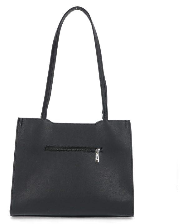 czarna klasyczna torebka karen