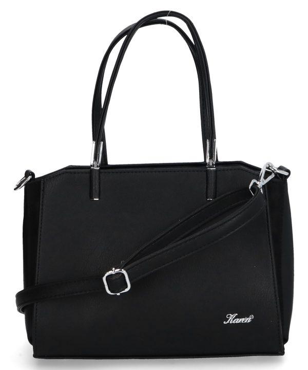 mała torebka do ręki karen czarna