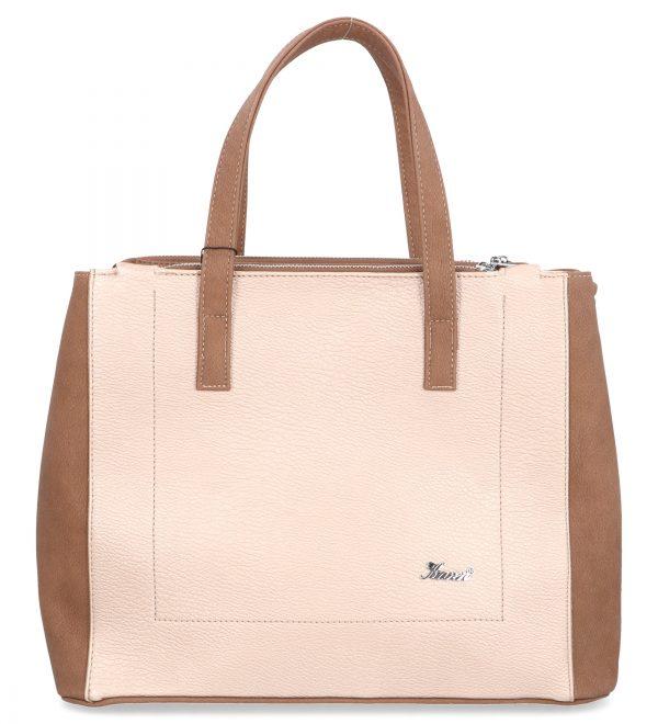 beżowa torebka damska karen z poświatą