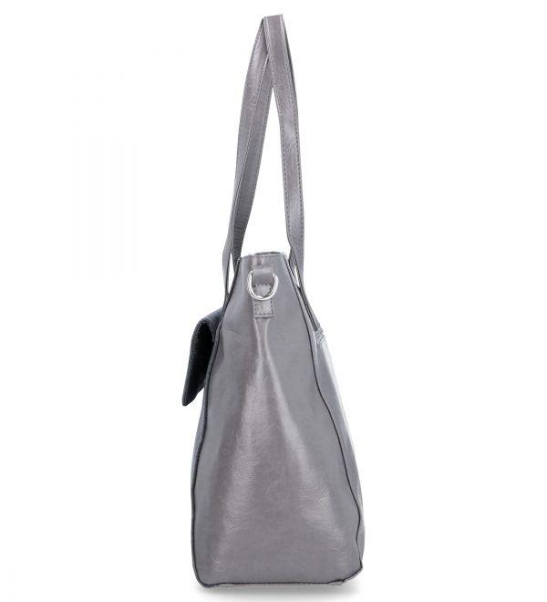 stalowa torebka klasyczna karen