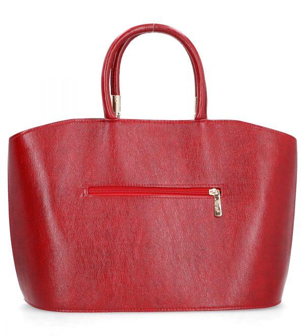 klasyczna torebka karen czerwona neira
