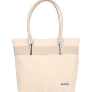 stabilna torebka damska karen beżowa