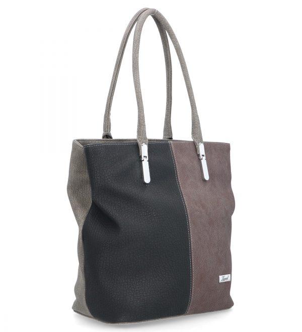 klasyczna torebka karen trójbarwna