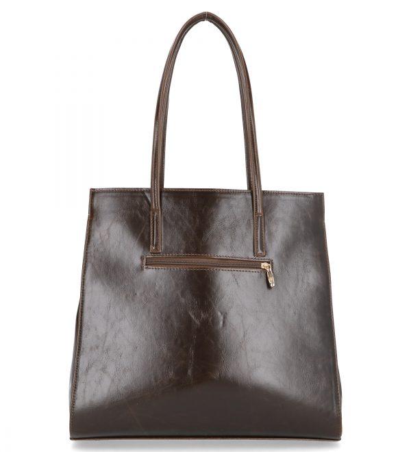 usztywniana brązowa torba karen