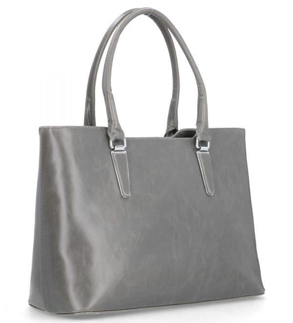 klasyczna torebka szara karen