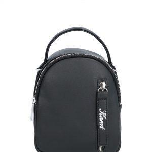 zaokrąglony plecak karen czarny