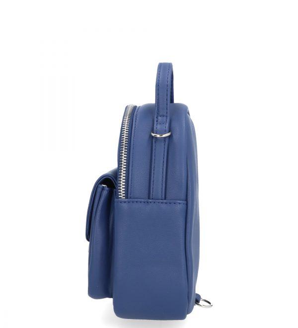 kobaltowa torebka karen