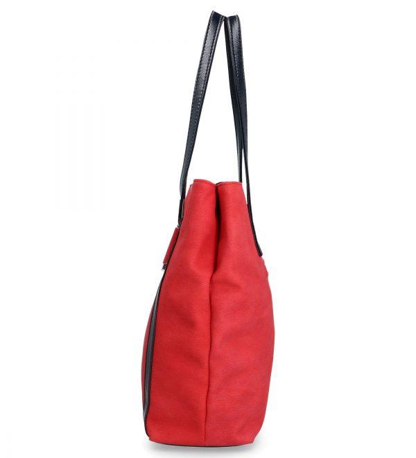 karen czerwona torebka klasyczna D283
