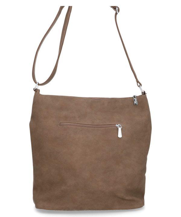 brązowa torebka na ramię karen