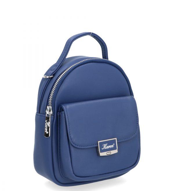 modny plecak karen ciemny niebieski