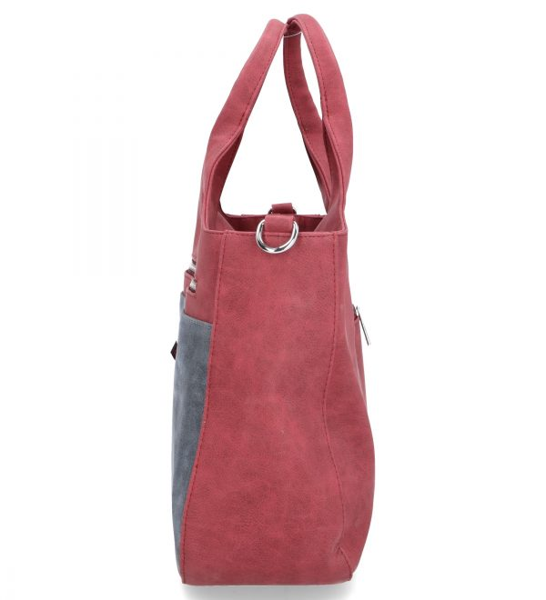 rubinowa torebka karen