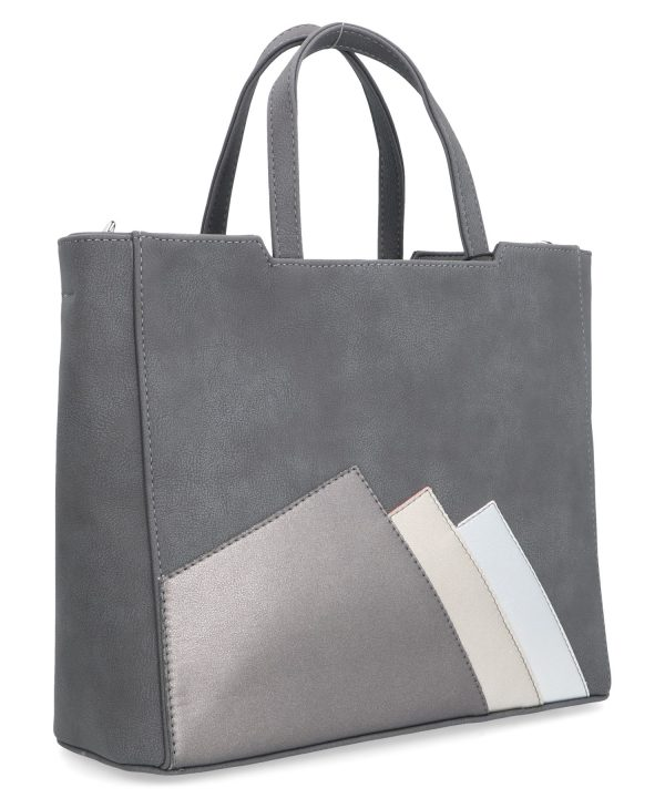 klasyczna torebka ameli szara