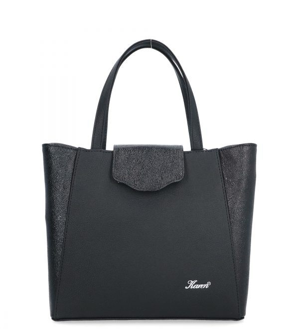 klasyczna torba damska karen czarna