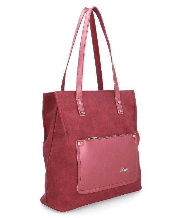 torebka z kieszonką karen róż indyjski