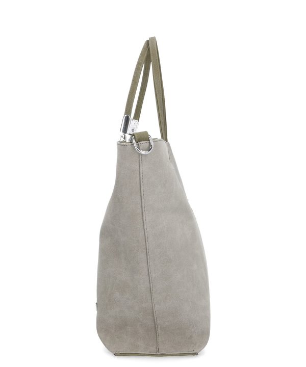 estetyczna torebka karen szara
