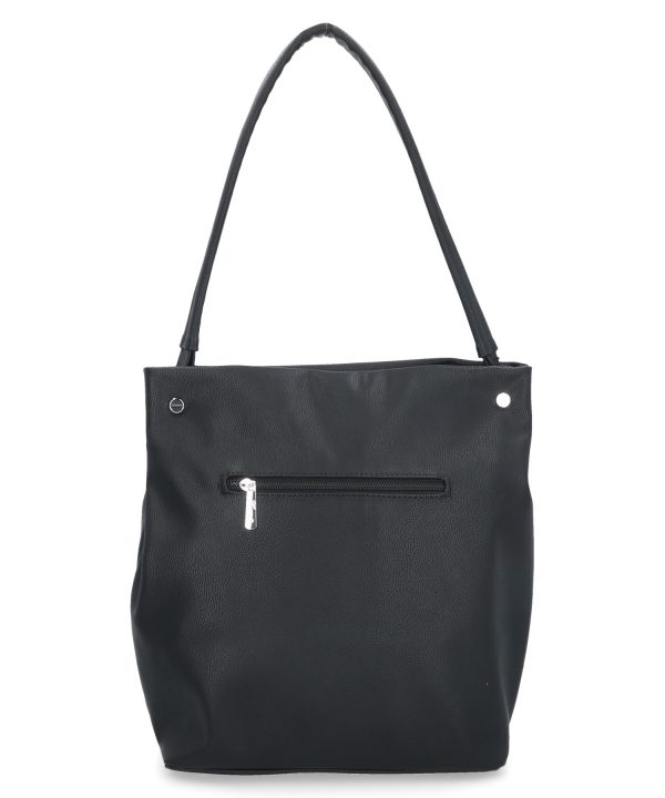 wygodna torebka karen czarna