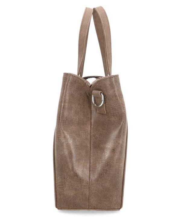 praktyczna torebka karen brązowa