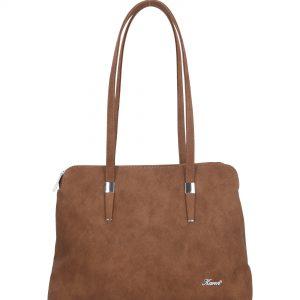 klasyczna torebka karen emi brązowa