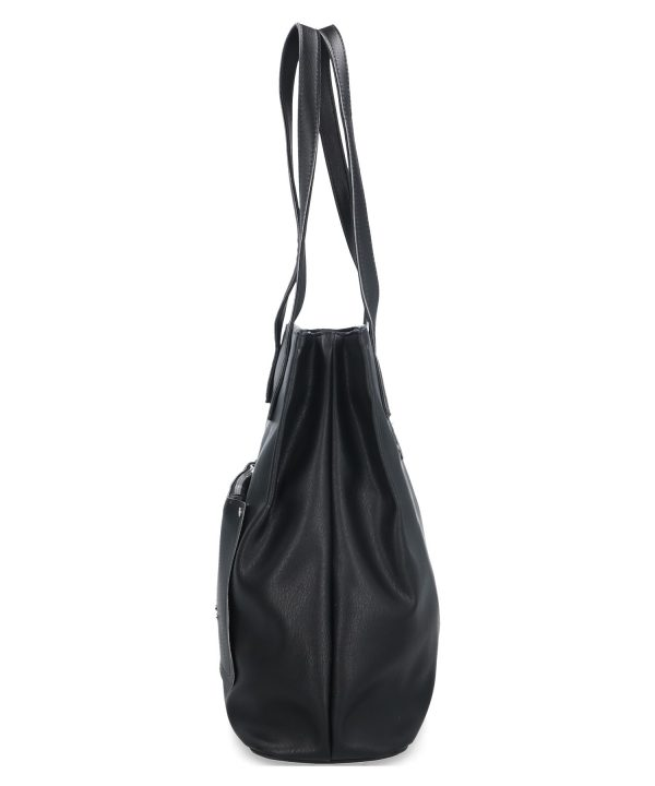 pojemna torebka karen czarna