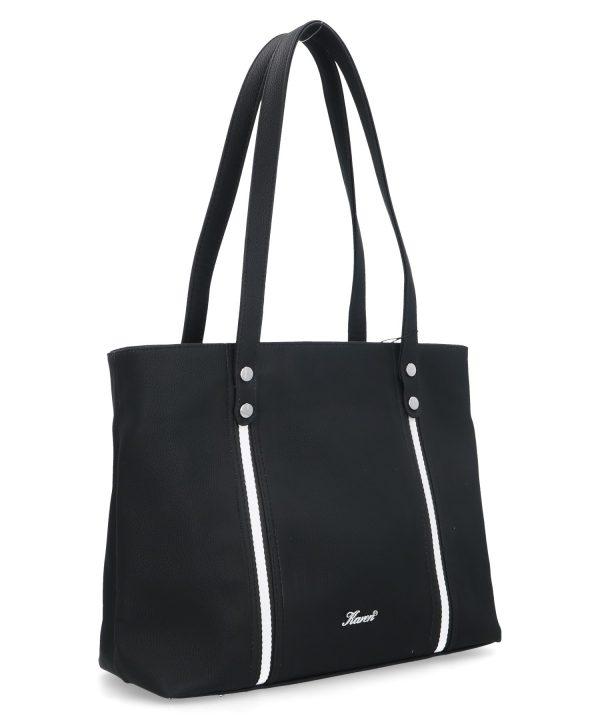 zgrabna torebka karen czarna na ramię
