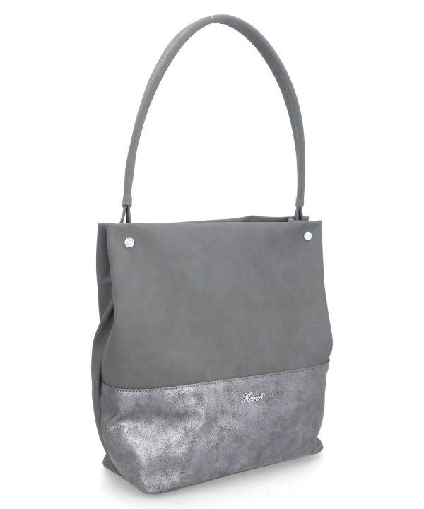 klasyczna torebka siwa karen