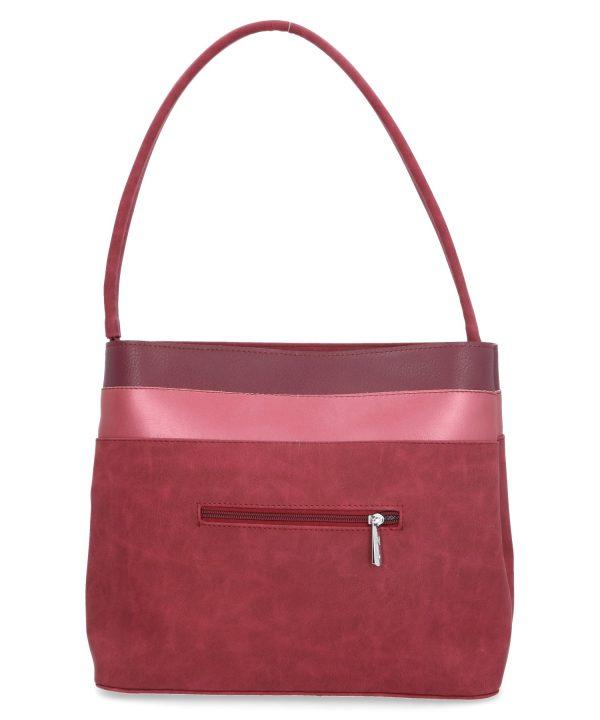 torebka na ramię klasyczna bordowa