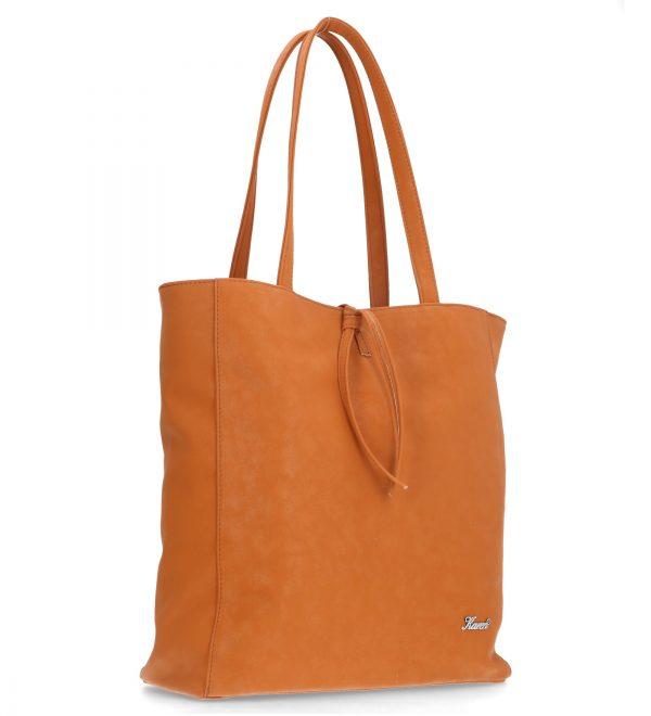 piękna duża torebka codzienna karen ruda